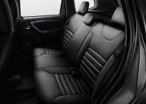 2015 Renault Duster SUV Facelift Rear Seat